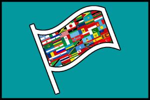 Foto sección banderas y vexilología