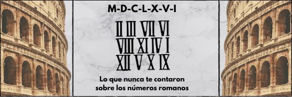 portada entrada números romanos