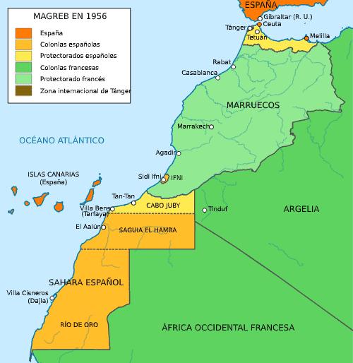 Protectorado español de Marruecos y el Sáhara Español