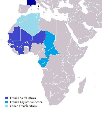 Colonización francesa África