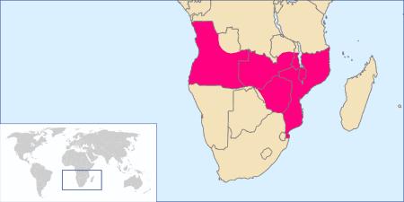 Territorios reclamados por los portugueses en África