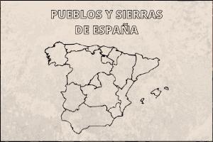 pueblos sierra nombre españa