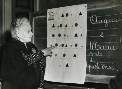 Maria Montessori clase