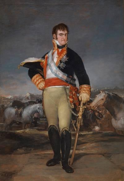 Fernando VII por Francisco de Goya