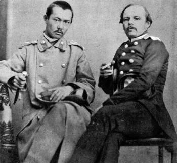 Chokan Valikhanov & fiodor dostoevsky