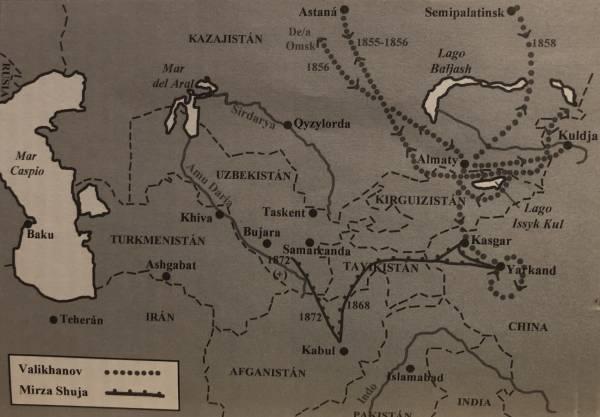 mapa exploracion valikhanov