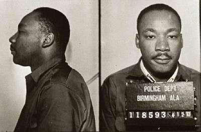 Luther King Jr arrestado