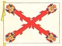 Bandera virreinato nueva españa