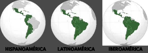 mapa americas