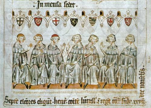 Príncipes electores del sacro imperio romano germánico