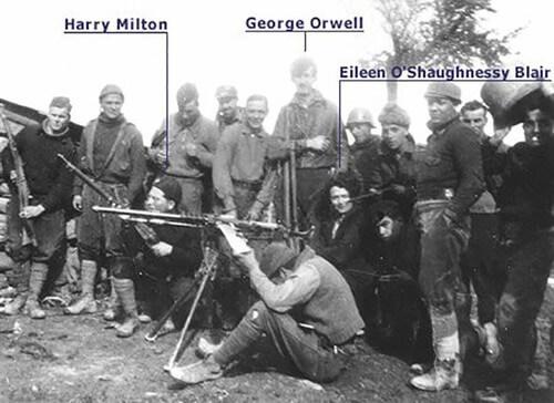 George Orwell en la guerra civil española